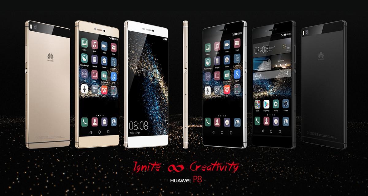 Huawei P8 varianty