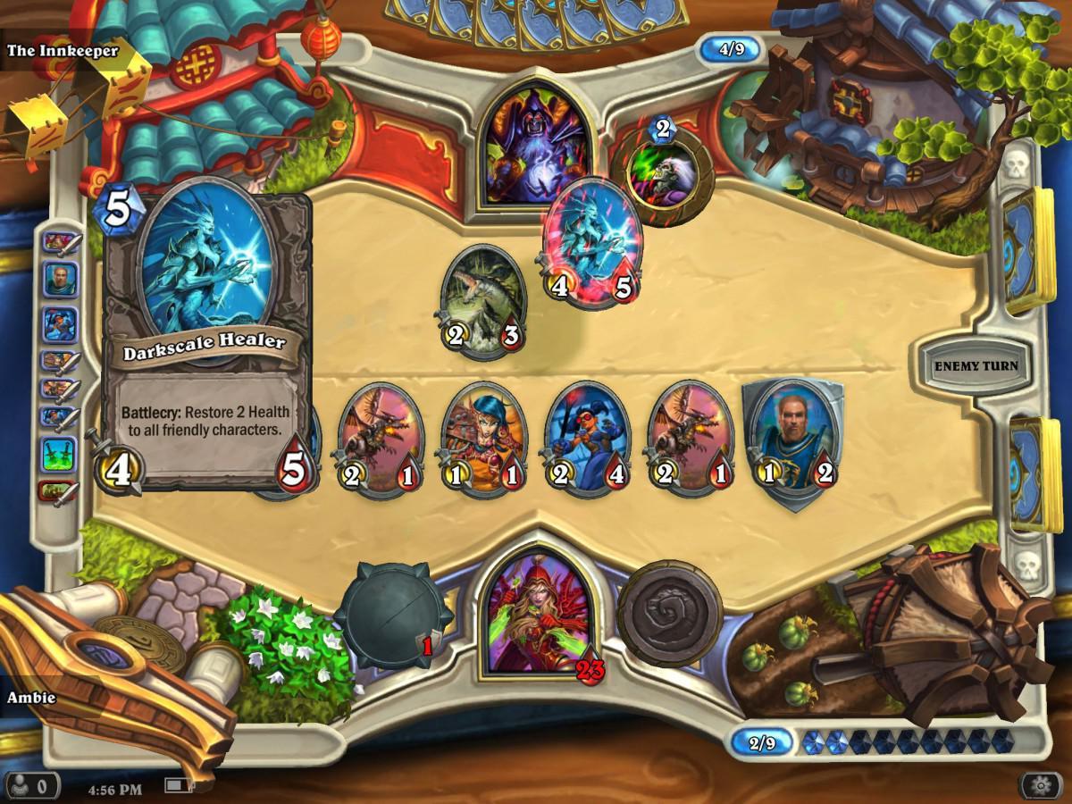 (Recenze) HearthStone Heroes of Warcraft - nejlepší sběratelská karetní hra pro Android
