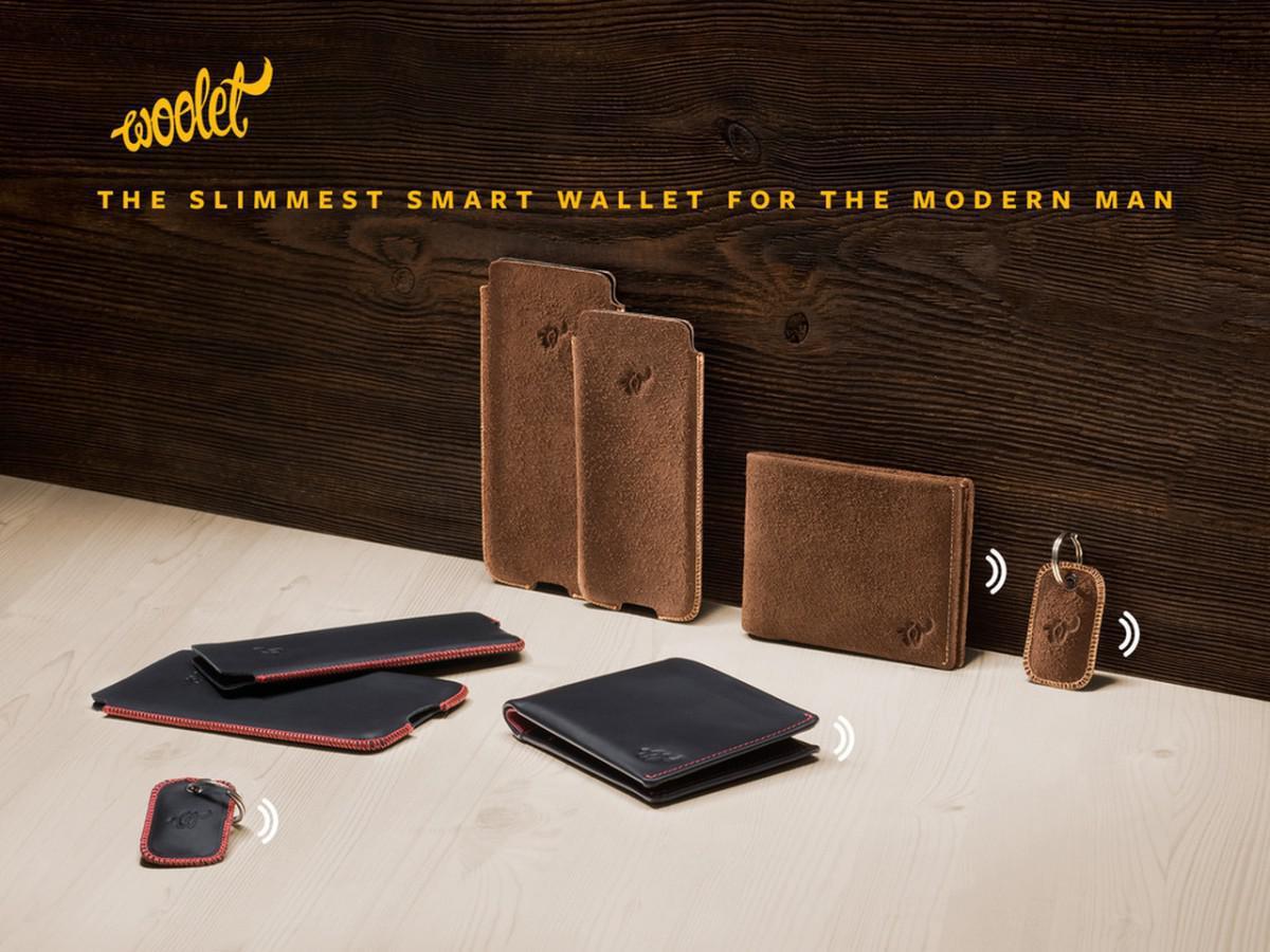 chytrá peněženka Woolet