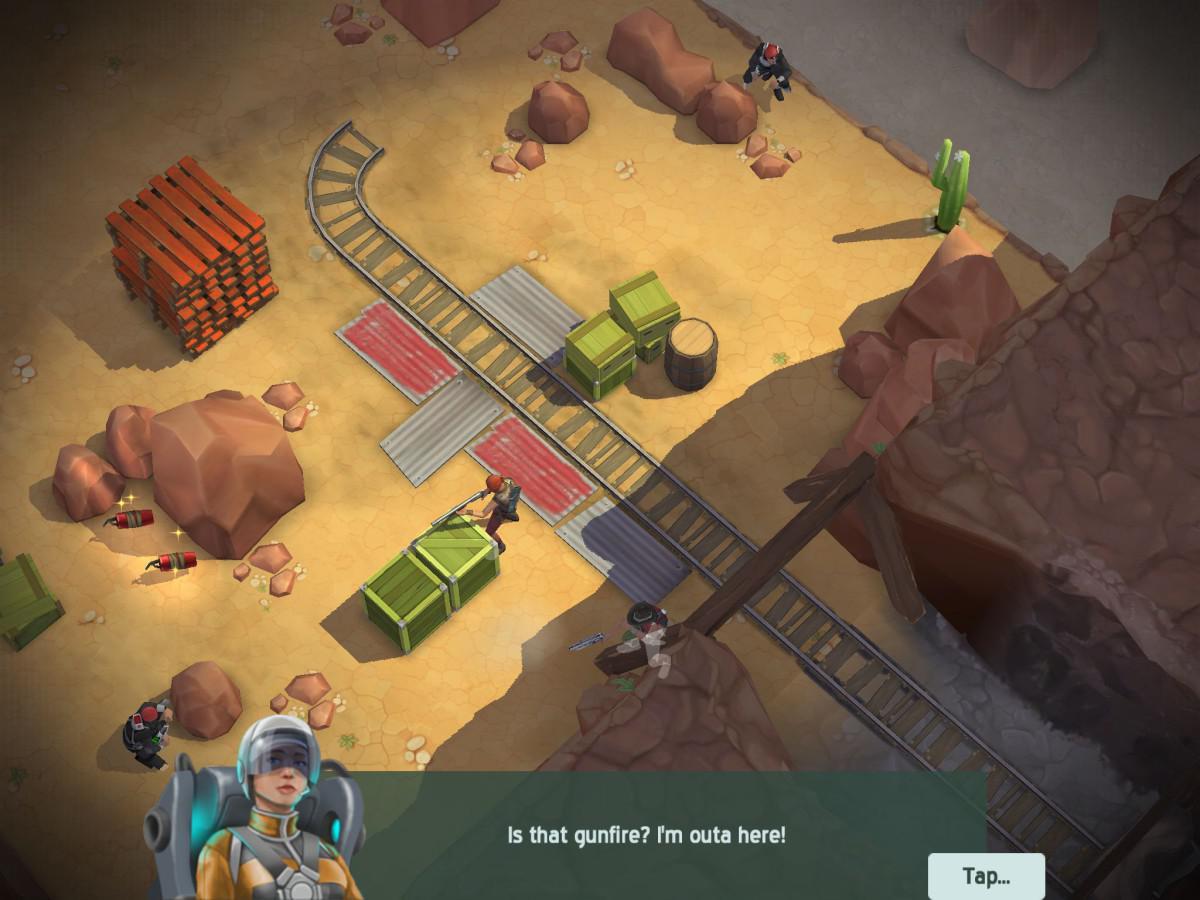 Space Marshals je hrou s úžasnou 3D grafikou
