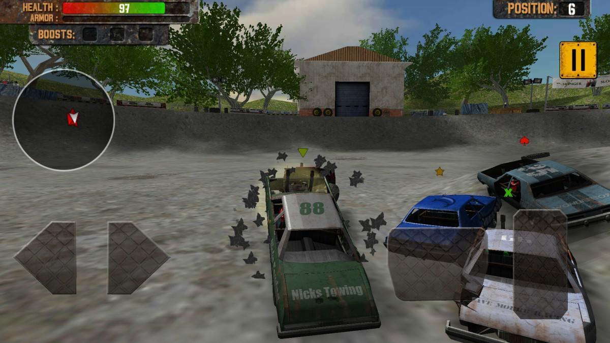 Demolition Derby: Crash Racing - kvalitní ničení aut v pěkném kabátě