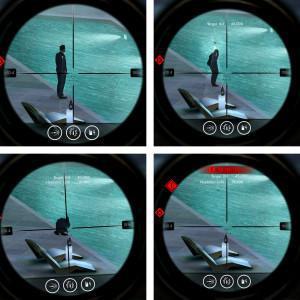 Hitman Sniper - Odklizení hlídky do bazénu