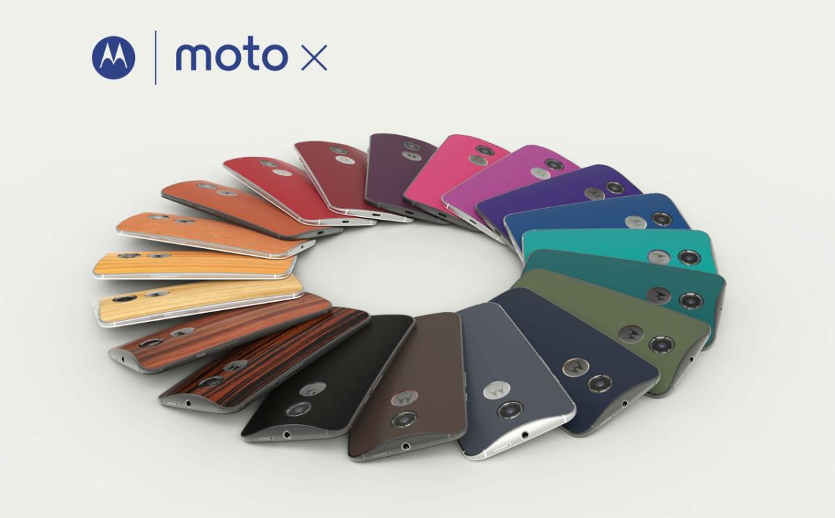Motorola Moto X (2014) varianty