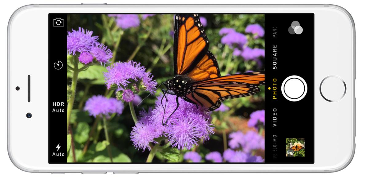 iPhone 6 fotoaplikace