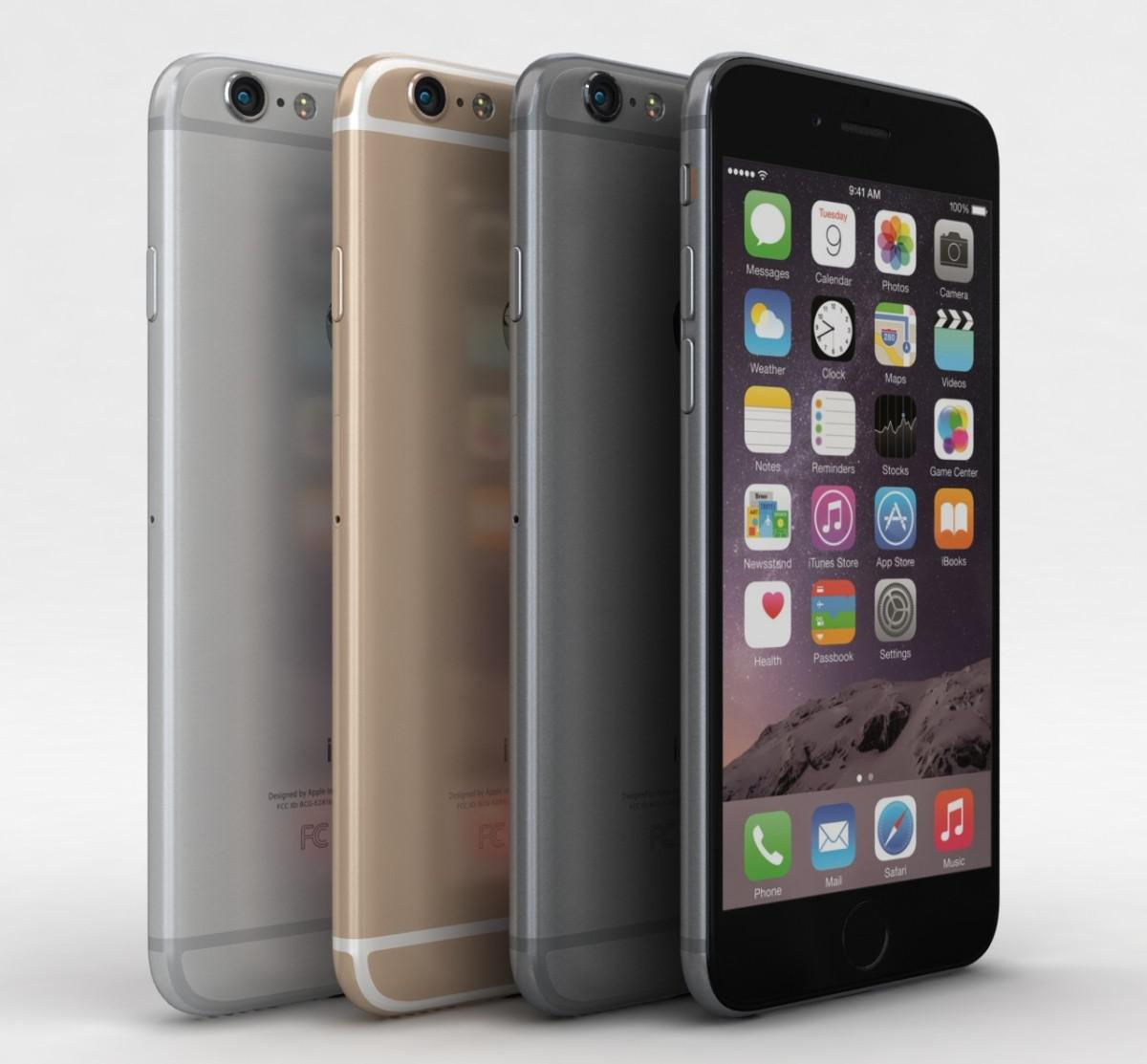 iPhone 6 varianty