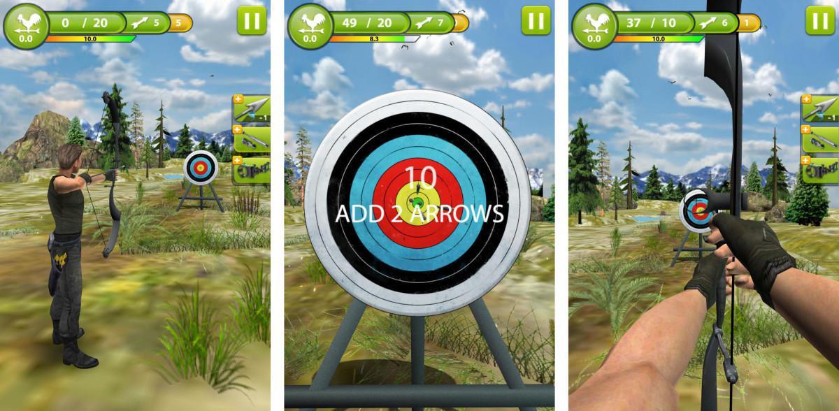 Archery Master 3D je nejlepší simulace lukostřelby na Android