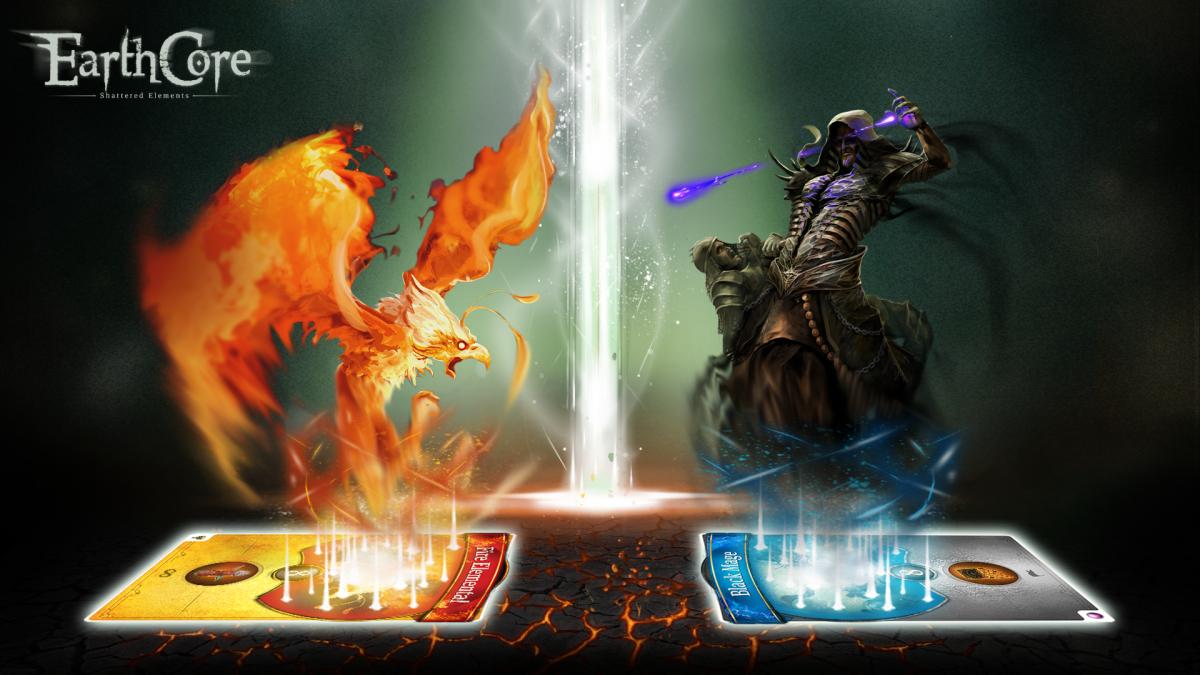 EarthCore Shattered Elemts je výborná karetní hra na Android