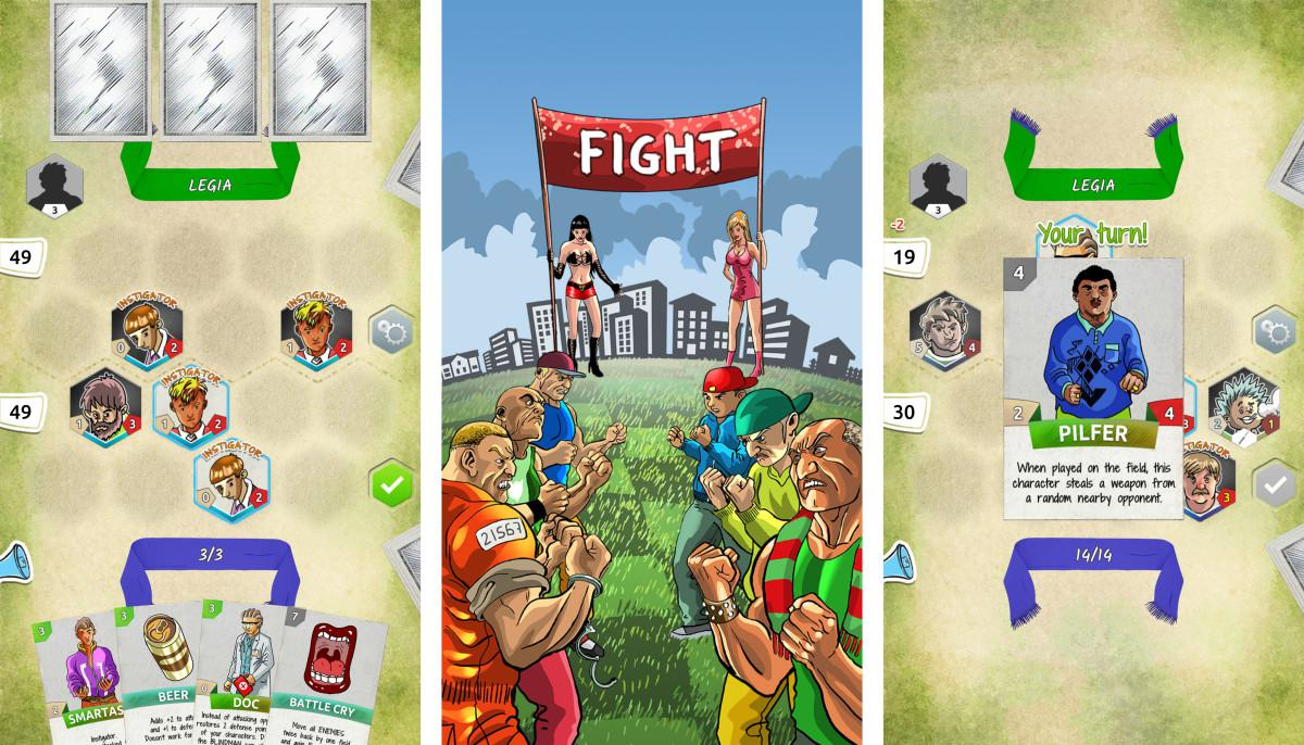 Fight - Polish Card Game - originální karetní mlátička