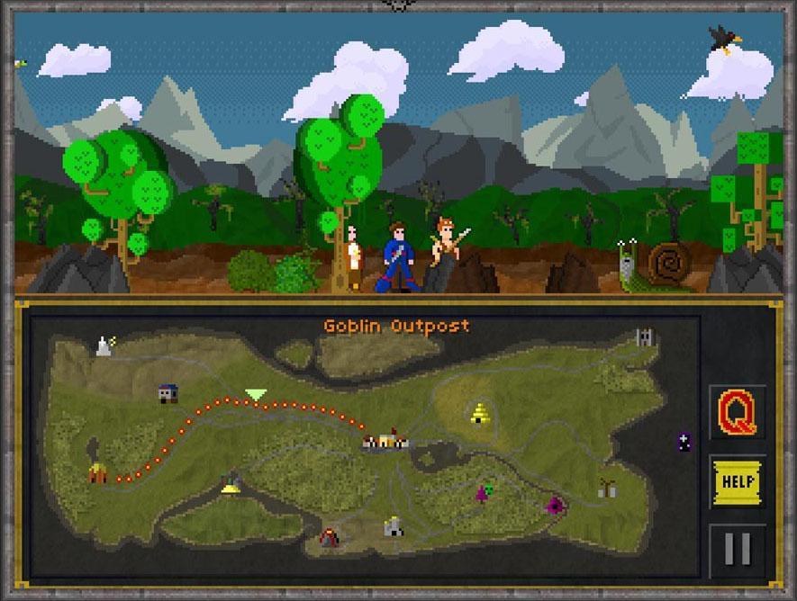 Pixel Heroes - Byte & Magic je kvalitní RPG s příběhem na Android