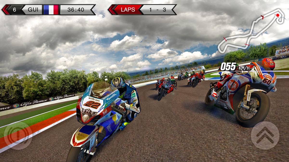 SBK15 - Výborné motocyklové závody na Android