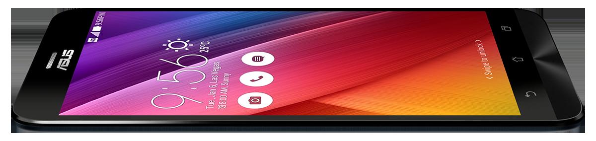 Asus ZenFone 2 z boku