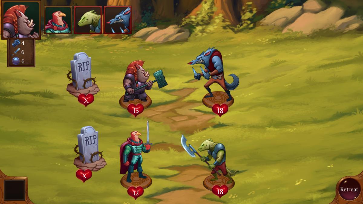 Beastopia je desková android hra na tahy