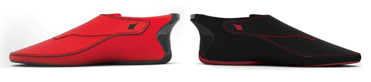 Chytré boty Lechal se prodávají ve dvou barevných variantách