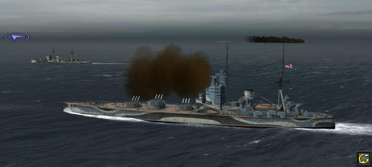 Hra Atlantic Fleet přináší nejlepší tahové námořní bitvy na Android