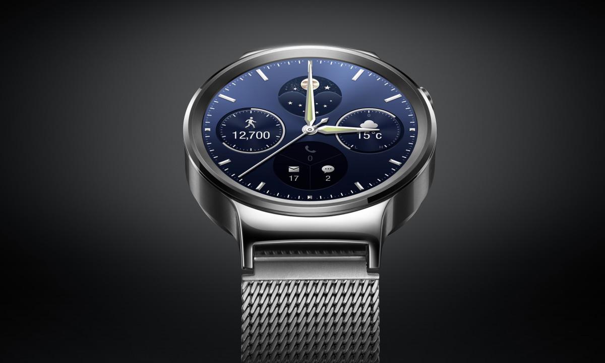 Huawei Watch - Stříbrná varianta chytrých hodinek s Androidem