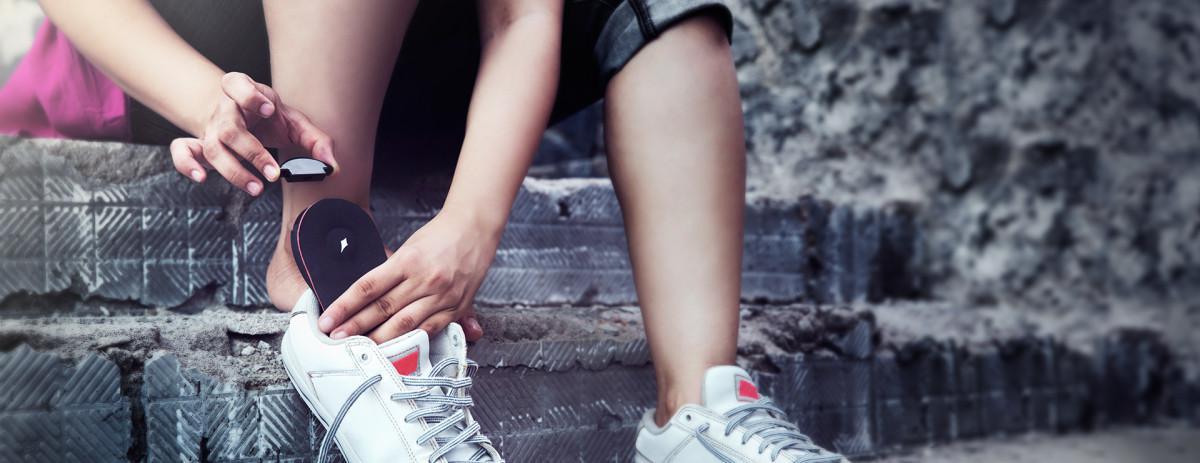 Lechal je možné používat s libovolnými botami jako chytrou vložku