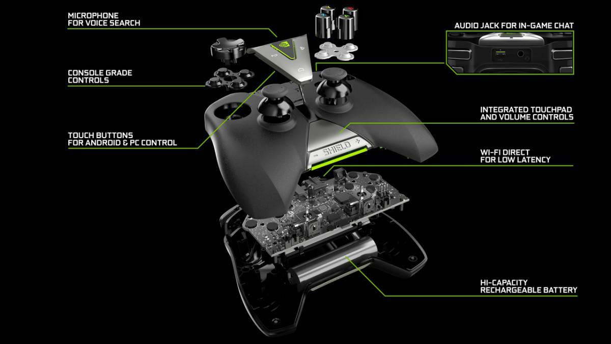 NVIDIA Shield Gamepad