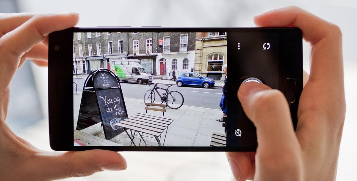 OnePlus 2 fotoaplikace