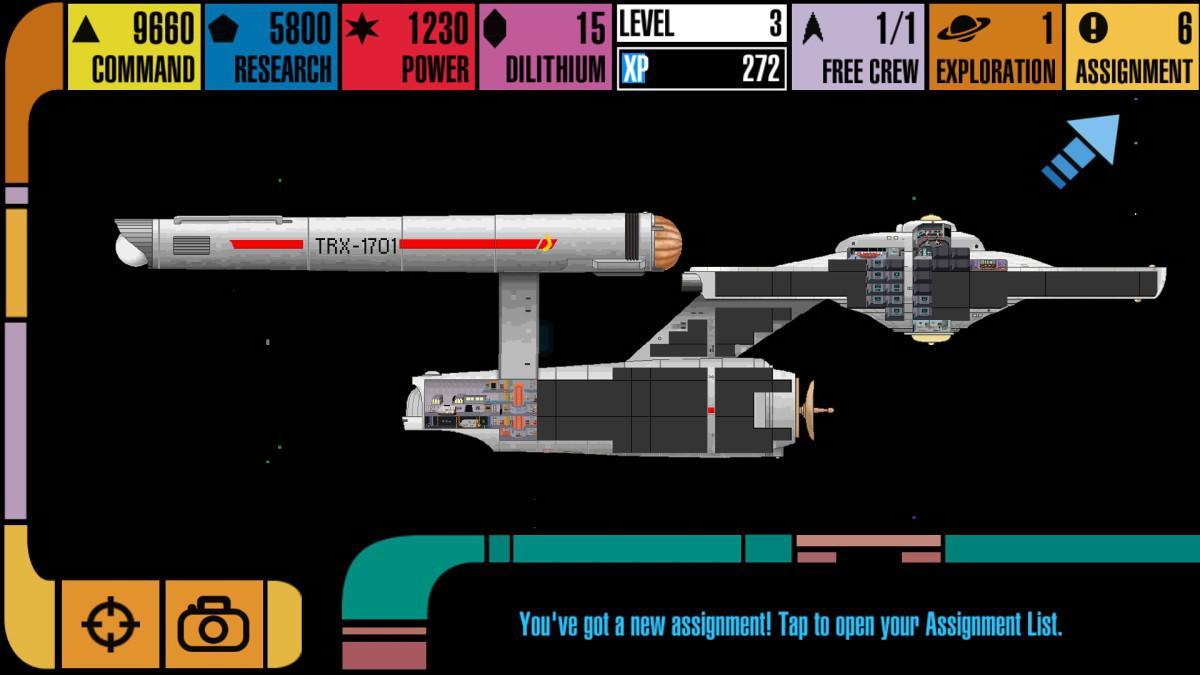 StarTrek: Trexels - Loď Enterprise