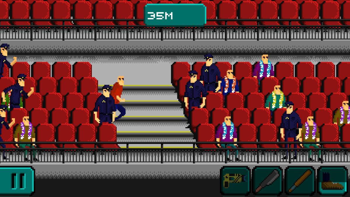 Hools Run - Útěk mezi diváky