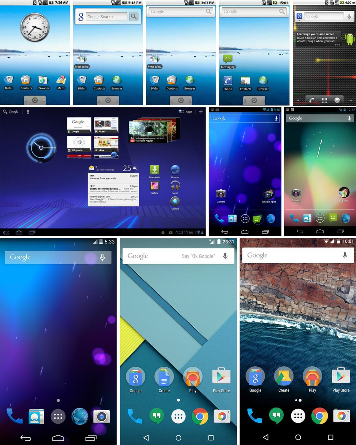 Vývoj Android OS