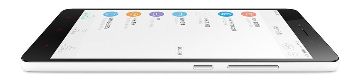 Xiaomi Redmi Note 2 z boku