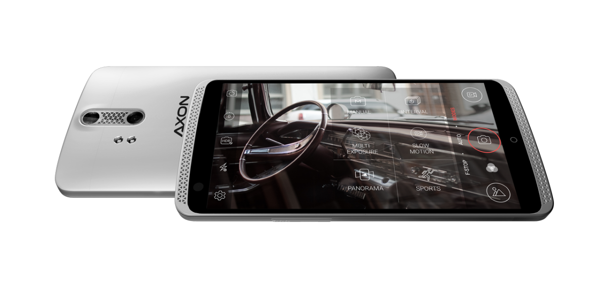 ZTE Axon Pro fotoaparát