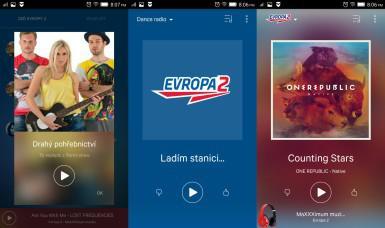 Evropa2-Příjemná aplikace moderního rádia