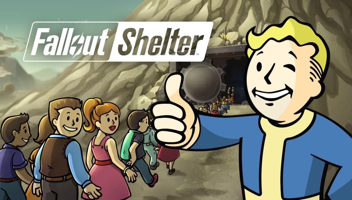 Fallout Shelter - Postapokalyptická budovatelská strategie ve které postavíte protiatomový kryt