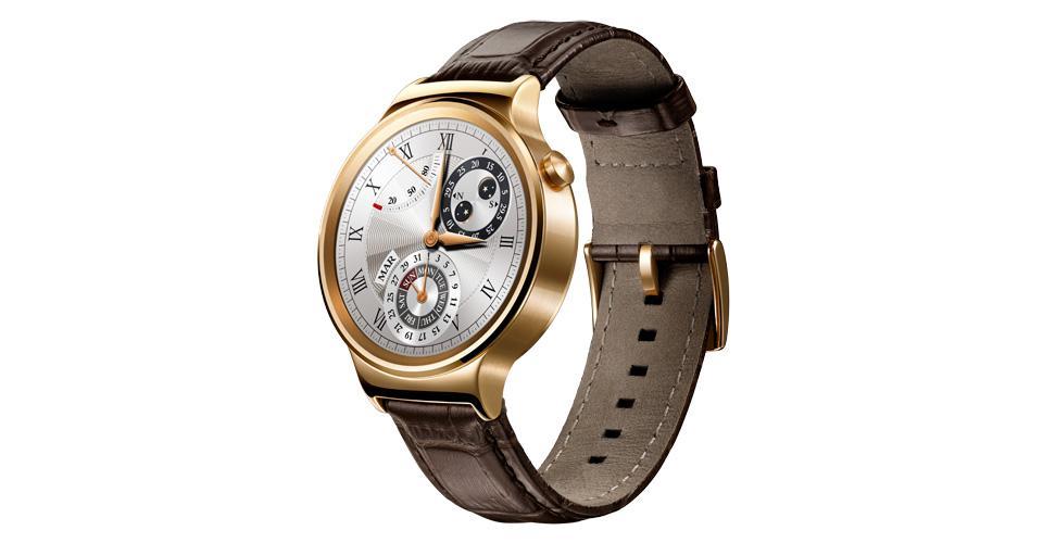 Huawei Watch - Zlatá varianta