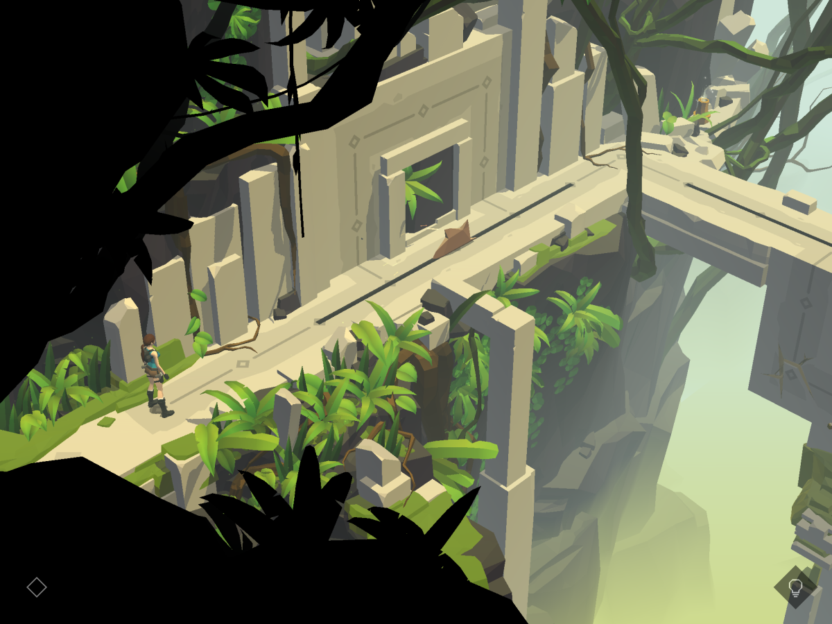 Lara Croft GO je pokračováním úspěšné android hry Htman GO