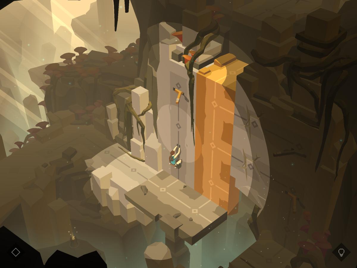 Lara Croft GO na android zavaří vaše mozkové závity