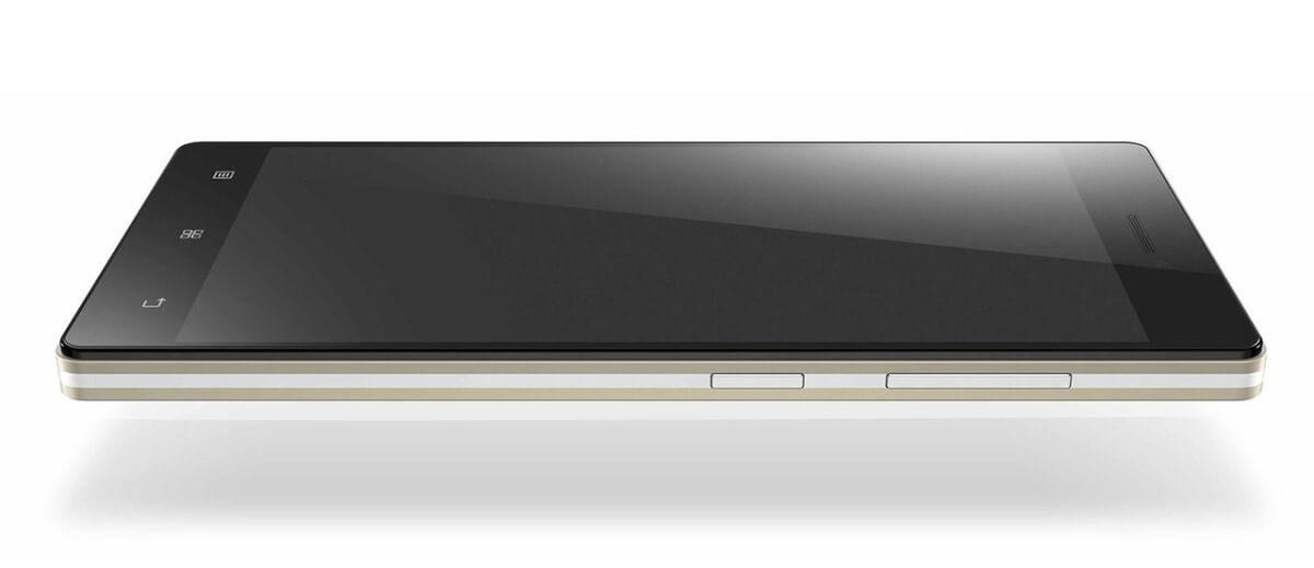 Lenovo Vibe X2 z boku