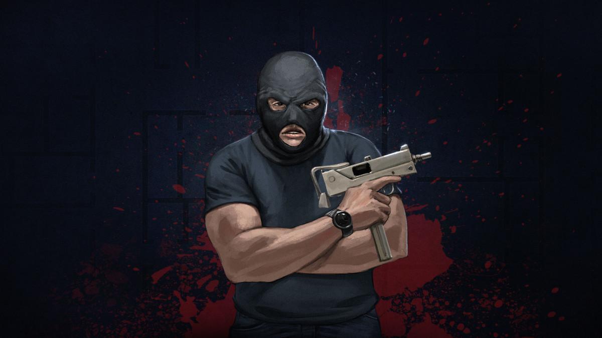 Door Kickers - maskovaný terorista