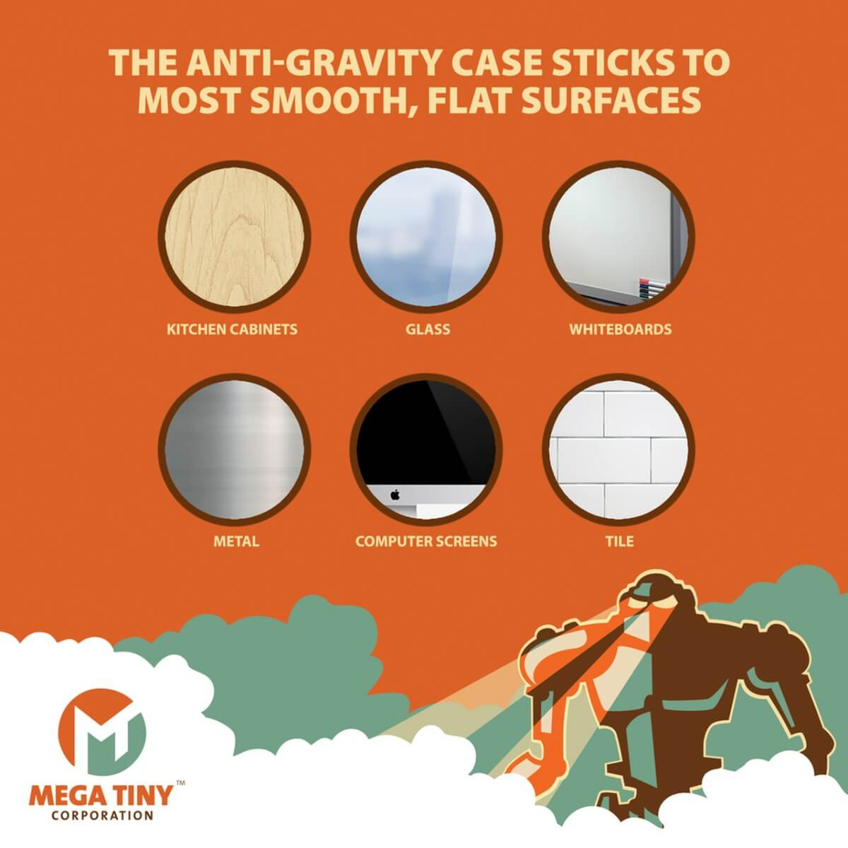 Anti Gravity Case Surfaces