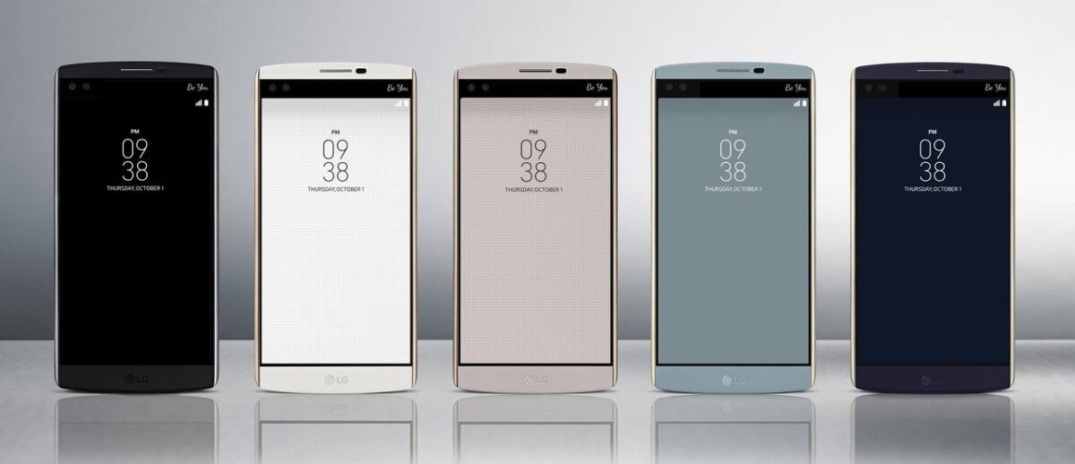 LG V10 varianty