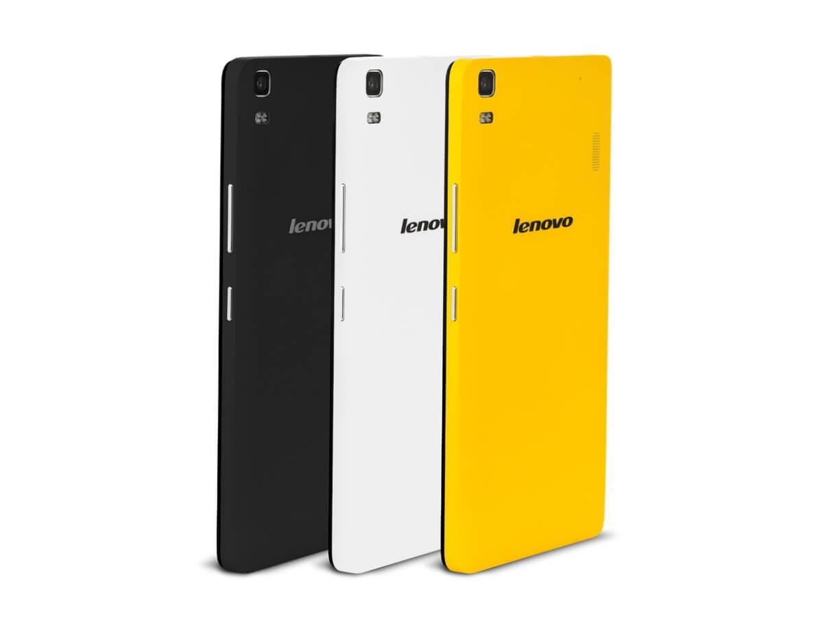 Lenovo K3 Note barvy