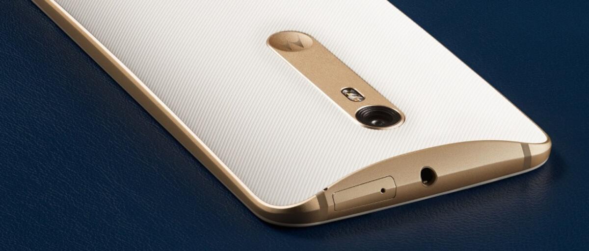 Motorola Moto X Style detail