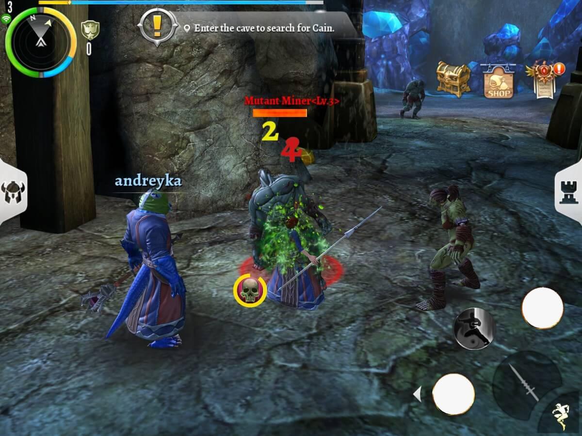 Ve hře Order & Chaos 2: Redemption můžete obchodovat s ostatními hráči