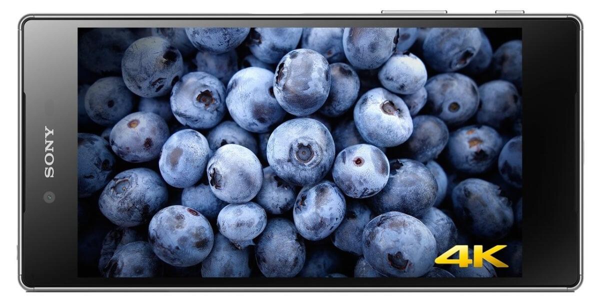 Sony Xperia Z5 Premium displej