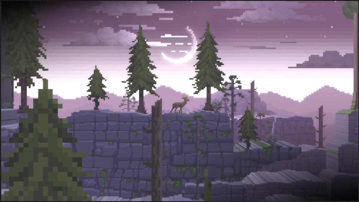 Vykoupení v The Deer God najdete přesným skákáním
