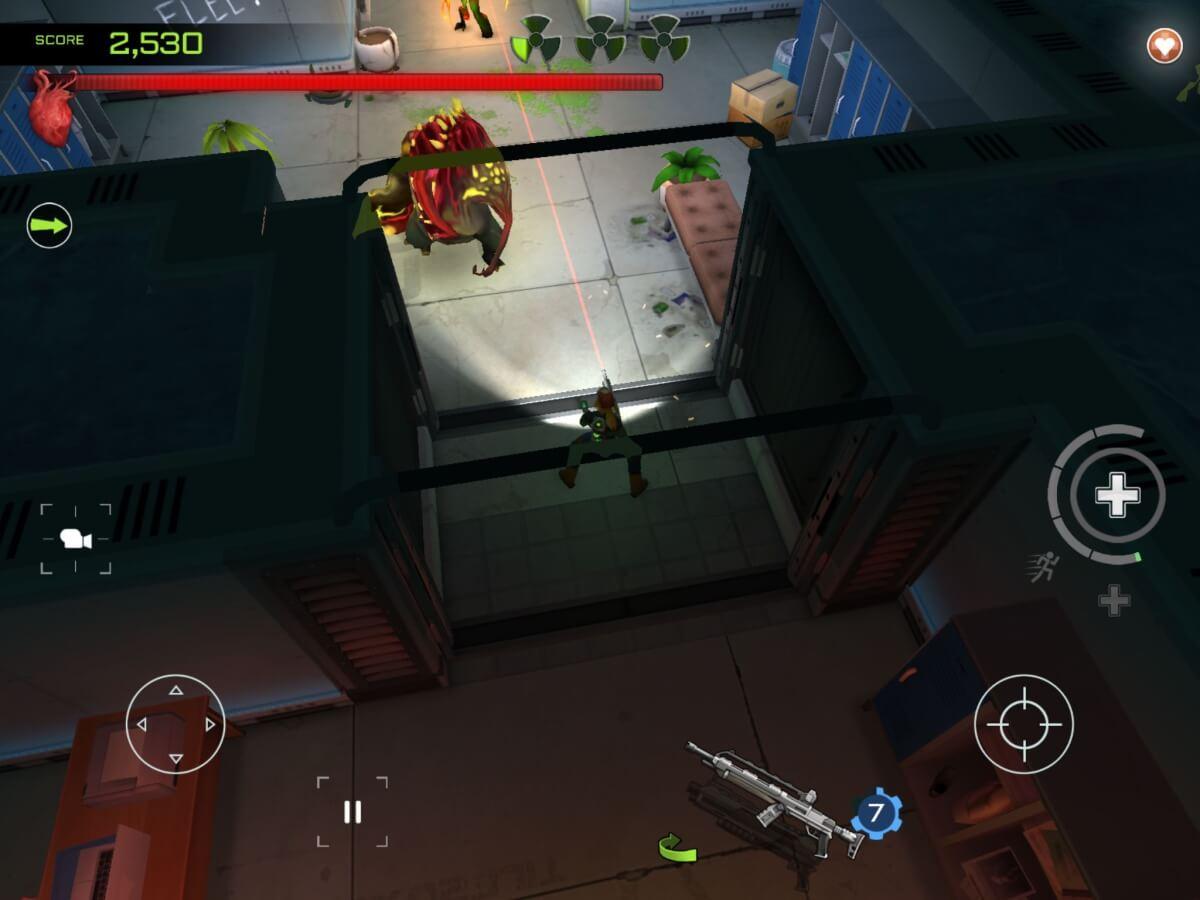 Xenowerk je jedna z nejlepších akčních her pro Android