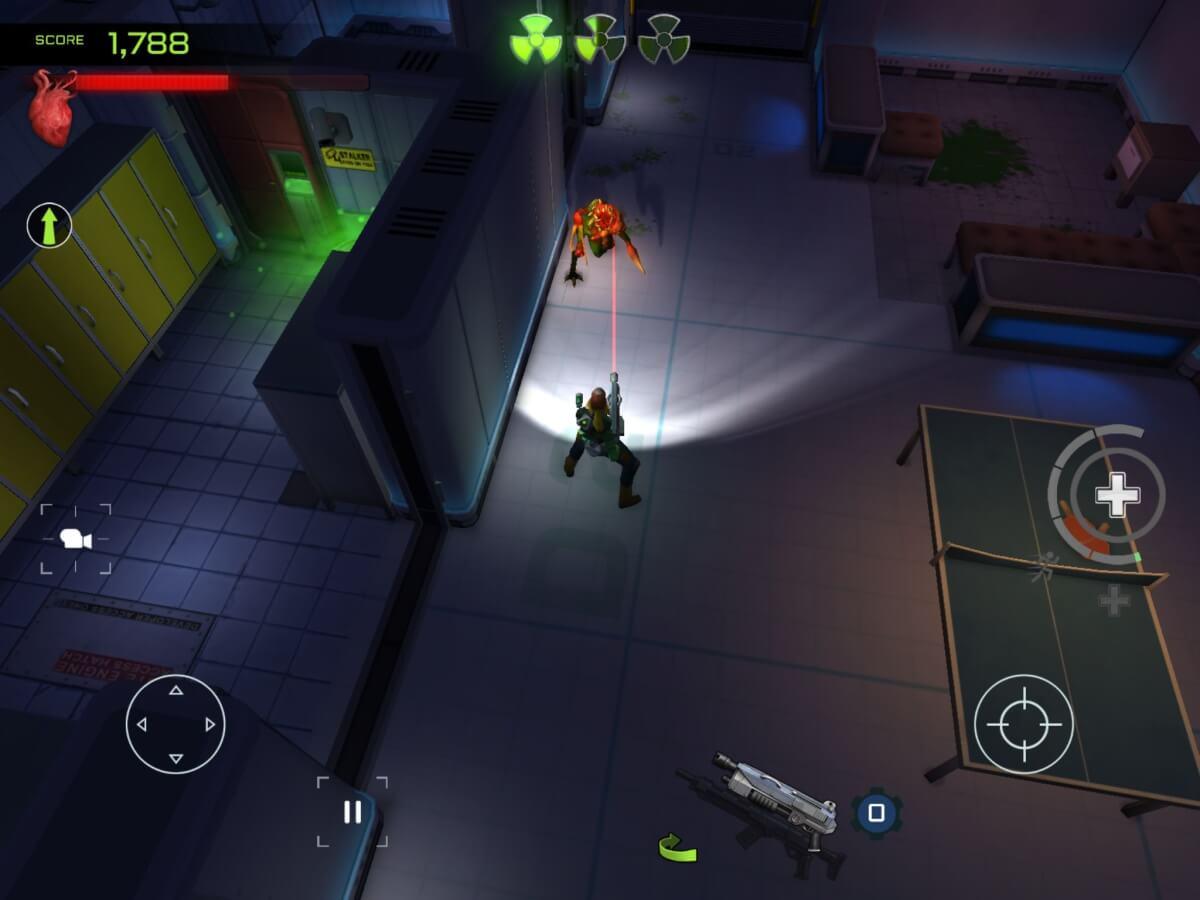 V Xenowerk se můžete těšit na výborné sci-fi prostředí