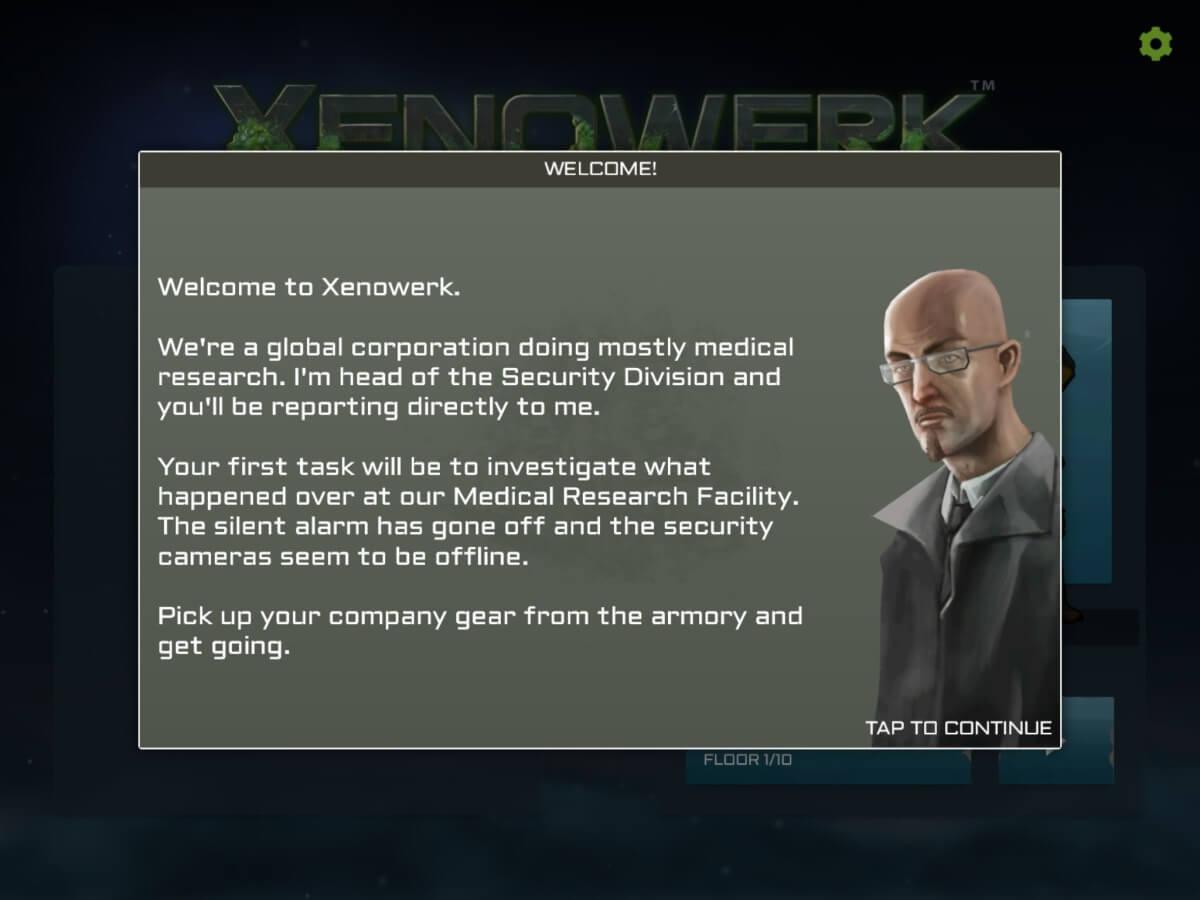 Příběh není silnou stránkou Xenowerk