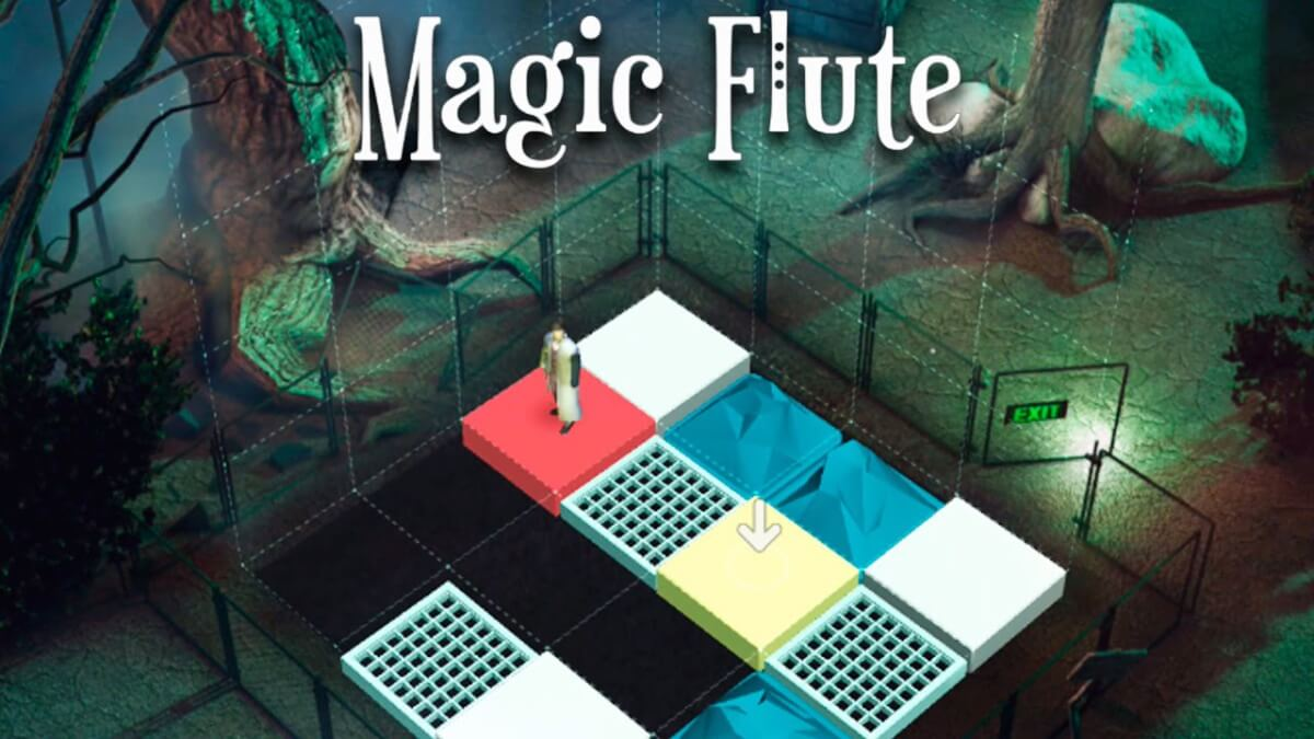 Android hra Magic Flute je logická adventura
