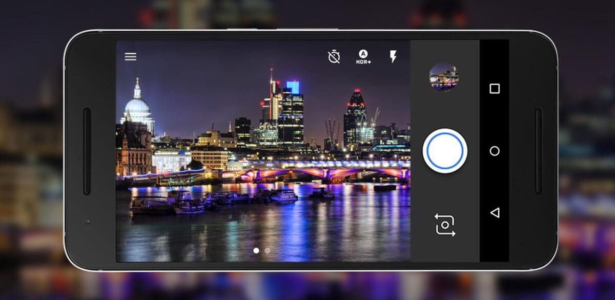 Huawei Nexus 6P fotoaplikace