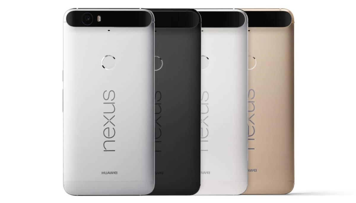 Huawei Nexus 6P varianty