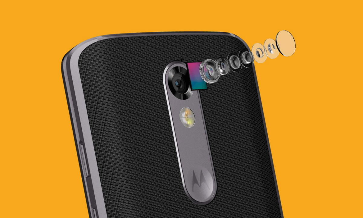 Motorola Moto X Force fotoaparát