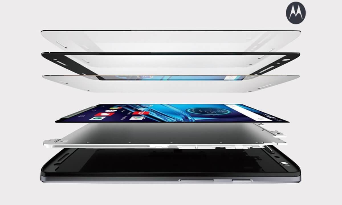 Motorola Moto X Force nerozbitný displej