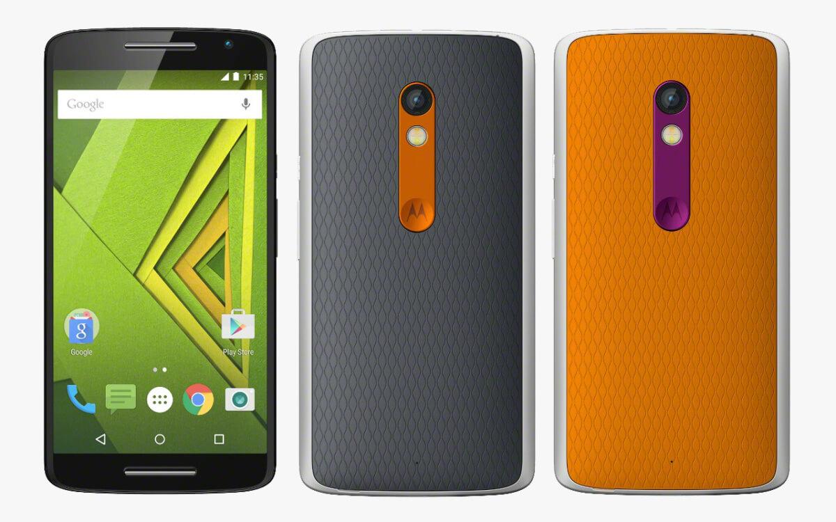 Motorola Moto X Play varianty